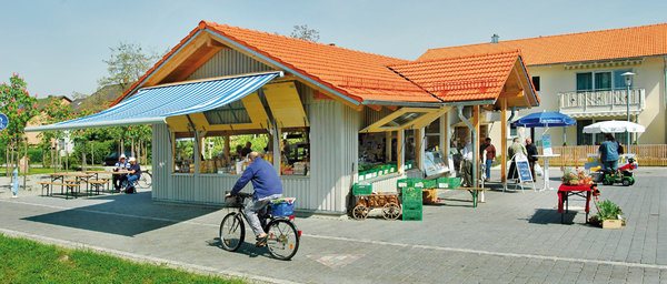 Marktpavillion in Moosen